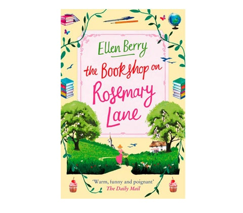 a paperback copy of The Bookshop on Rosemary Lane sweepstakes