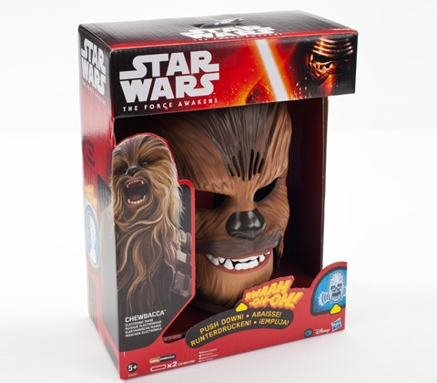 Star Wars The Force Awakens Chewbacca Electronic Mask sweepstakes