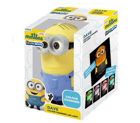 MINIONS DAVE LIGHT! sweepstakes