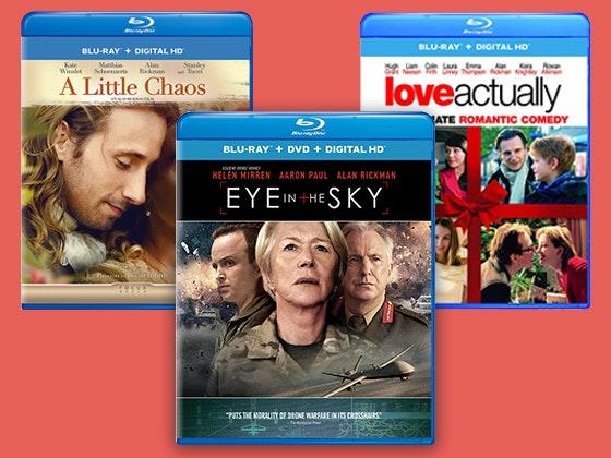 Alan rickman movie package giveaway