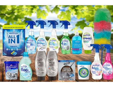 an Astonish Good Clean Summer Pack  sweepstakes