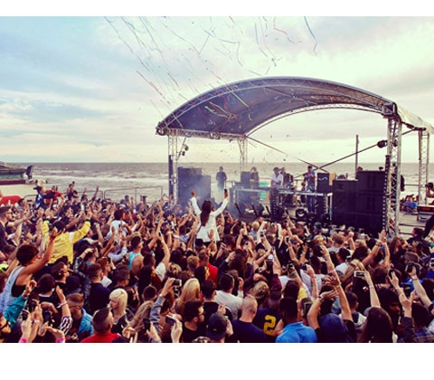 VIP tickets to four Pier Jam shows in Blackpool sweepstakes