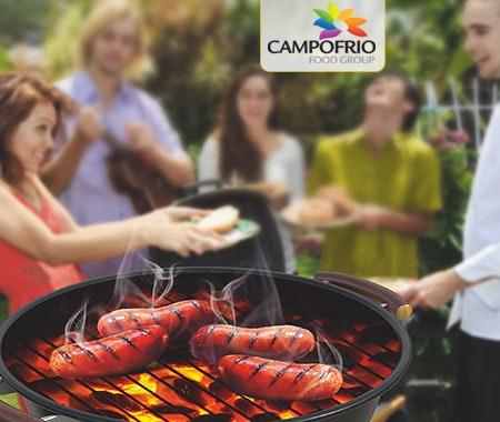 Campofrio verlost Weber-Grill Gewinnspiel