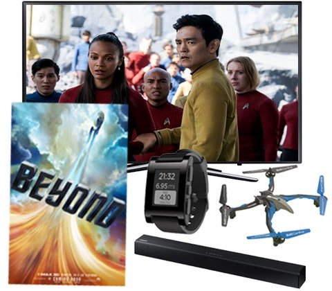 a Star Trek Beyond futuristic tech bundle sweepstakes