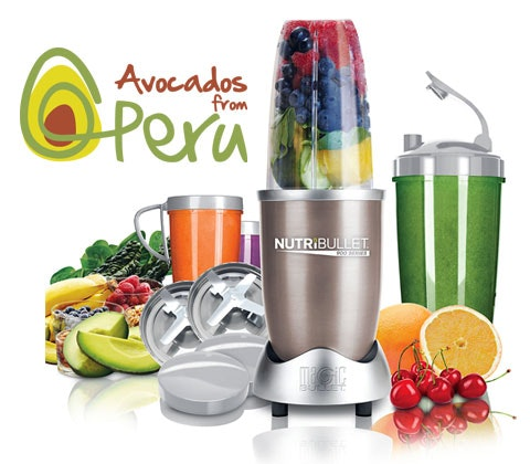 a Nutribullet Pro 900 Series courtsey of Peruvian Hass Avocados sweepstakes