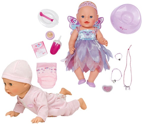 Baby Annabell & BABY born dolls sweepstakes