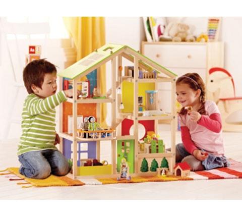 a Hape All Seasons Dolls' House sweepstakes