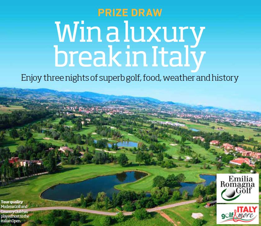 WIN a luxury break in Italy sweepstakes