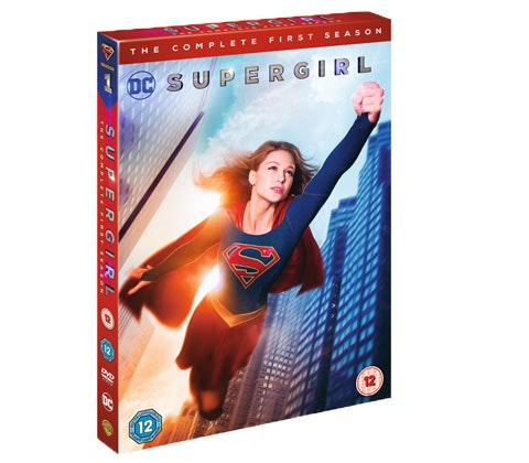 a Supergirl Season 1 on DVD sweepstakes