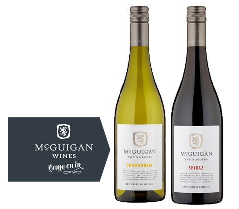 two cases of The Borders Wine from McGuigan Wines sweepstakes
