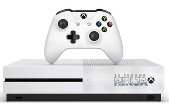 Xbox One S with 10 Second Ninja X sweepstakes