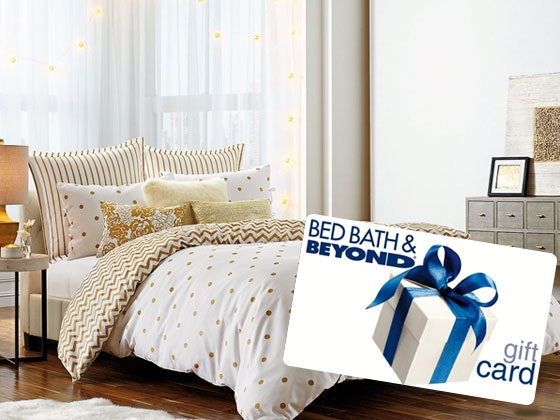 1000 bed bath and beyond giveaway