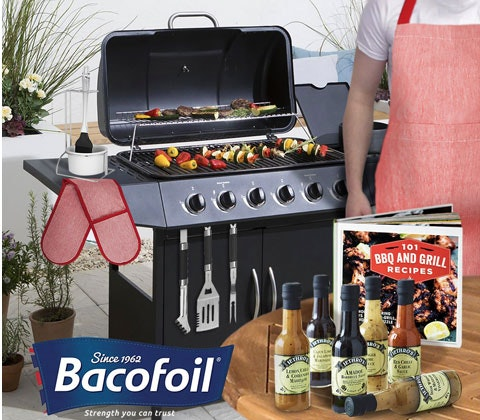 an Ultimate barbecue bundle with Bacofoil sweepstakes