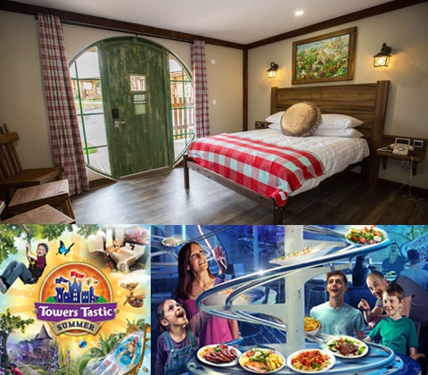 an Alton Towers Resort break for four sweepstakes