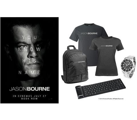 Jason Bourne sweepstakes