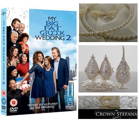 Win a My Big Fat Greek Wedding 2 DVDs & wedding essentials sweepstakes