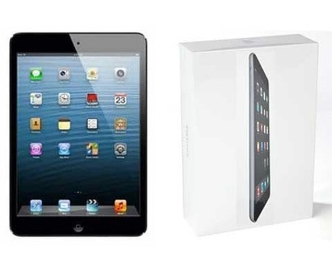 Apple iPad mini 2 in Space Grey sweepstakes