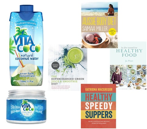 Vita Coco Coconut products & Nourish cookbooks sweepstakes