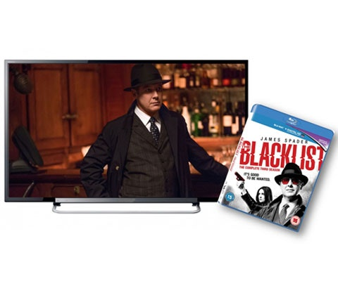 a LED TV & Blu-ray of The Blacklist Season 3 sweepstakes