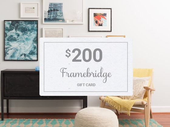 Framebridge giveaway 1