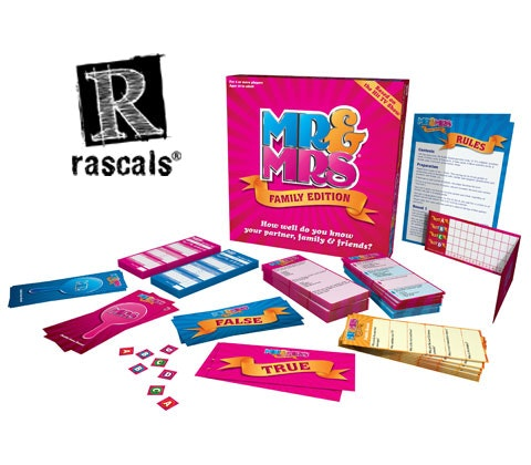 a Mr & Mrs Family Edition Game sweepstakes
