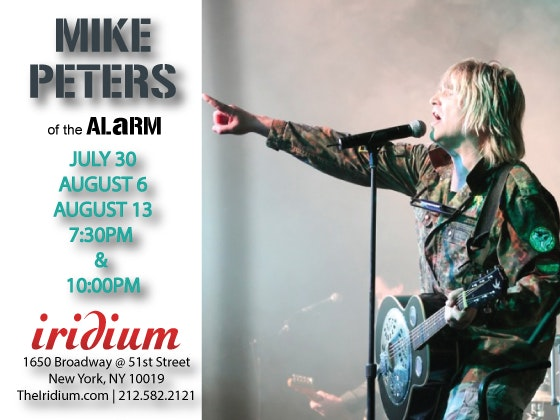 Mike peters iridium giveaway