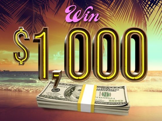 $1000 Cash August sweepstakes