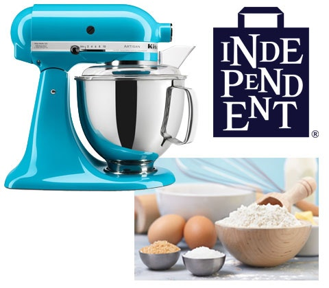 a KitchenAid mixer & baking bundle  sweepstakes