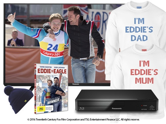 Eddie the Eagle Entertainment Pack sweepstakes