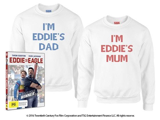 Eddie the Eagle Prize sweepstakes