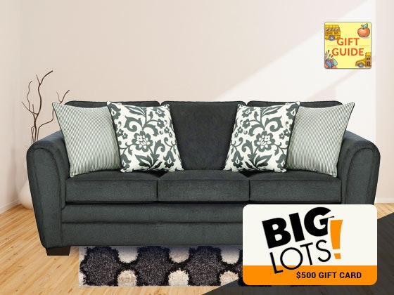 $500 Big Lots Gift Card- BTS Gift Guide sweepstakes
