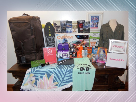 Teen choice gift bag giveaway