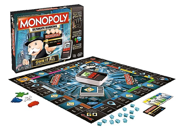 Monopoly board game qf giveaway