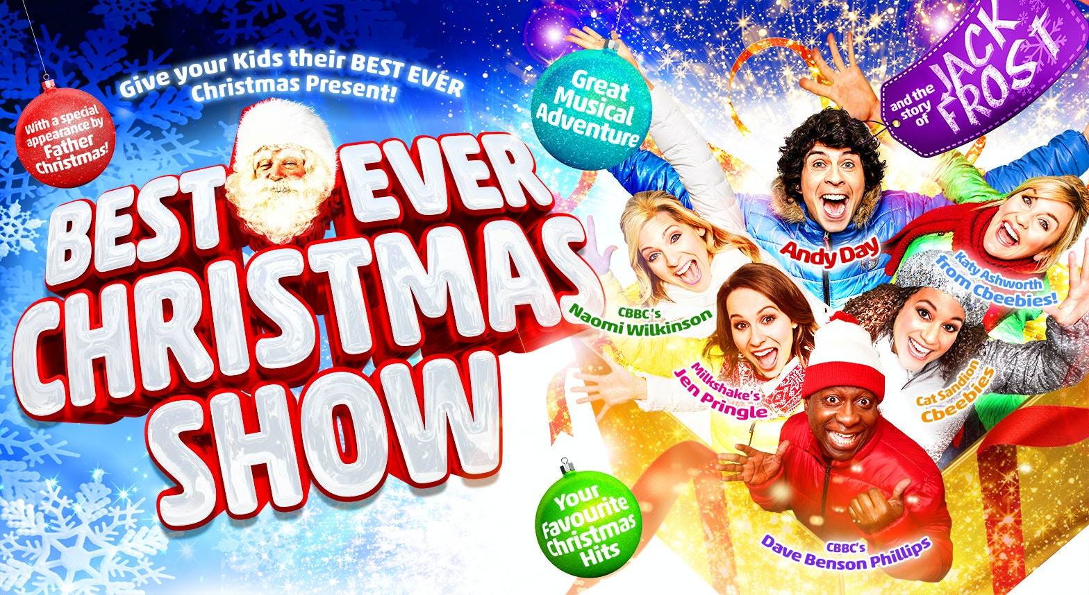 FAMILY TICKETS TO THE BEST EVER CHRISTMAS SHOW sweepstakes