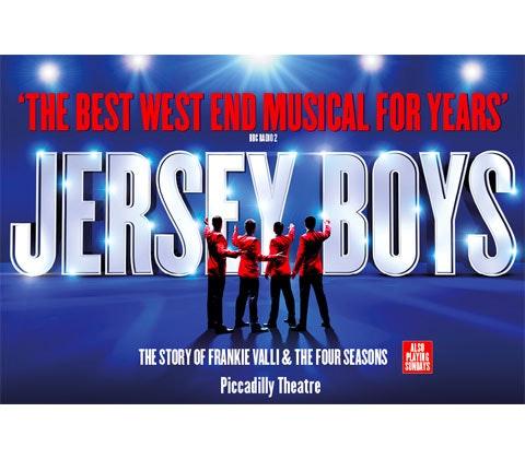 Jersey Boys sweepstakes