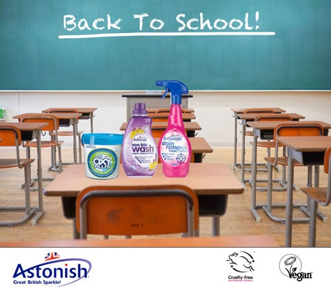 a back to school pack from Astonish sweepstakes
