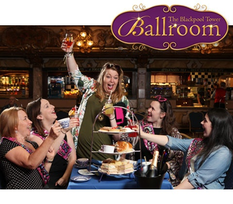 Afternoon Tea at The Blackpool Tower Ballroom sweepstakes