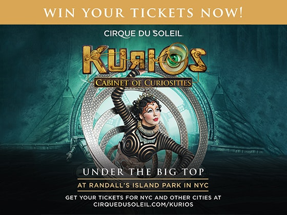 Trip to See KURIOS by Cirque du Soleil in NYC sweepstakes