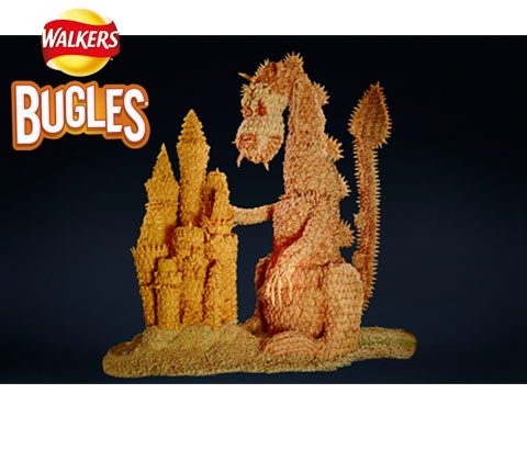 a hamper of Walkers Bugles  sweepstakes