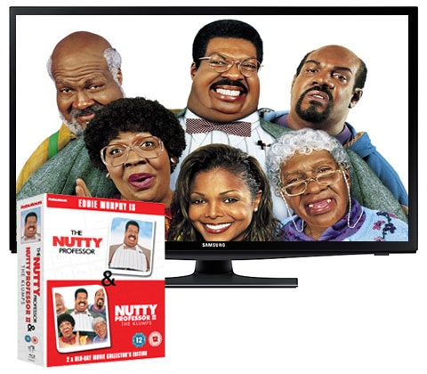 The Nutty Professor Blu-ray box set & a Samsung TV sweepstakes