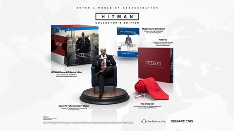 Hitman Collector's Edition for Sony PlayStation 4 sweepstakes
