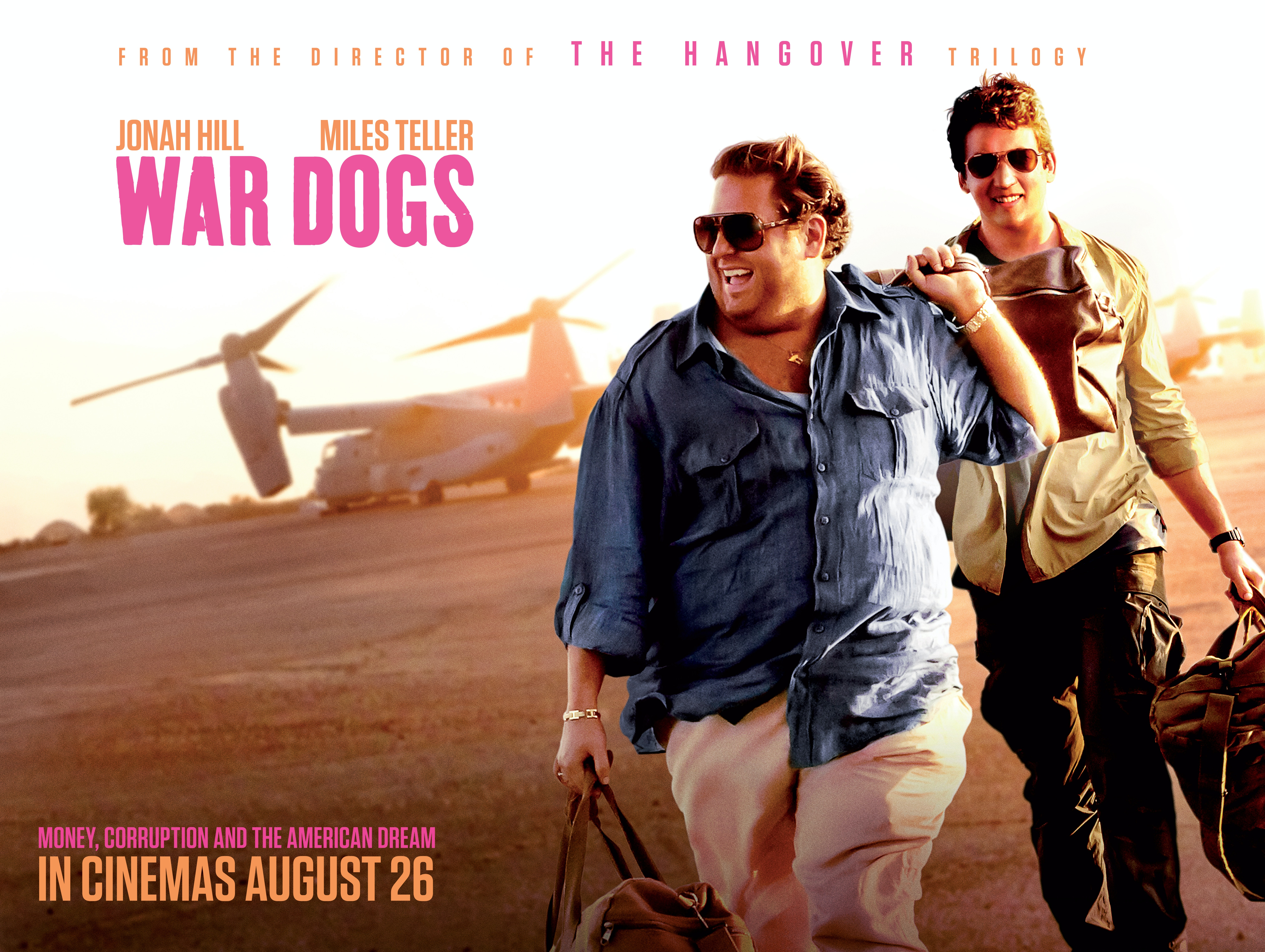 WAR DOGS  sweepstakes