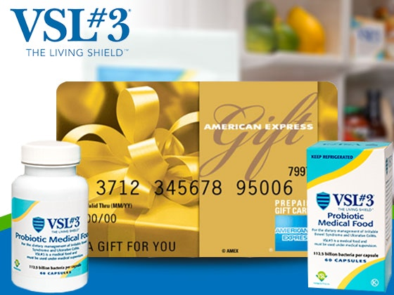 VSL#3 Prize Package and a $200 Amex Gift Card sweepstakes