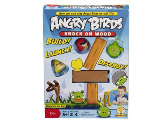 Angry Birds gra Knock On Wood sweepstakes