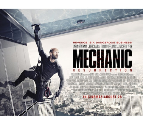 Win a Jason Statham DVD bundle with MECHANIC: RESURRECTION sweepstakes