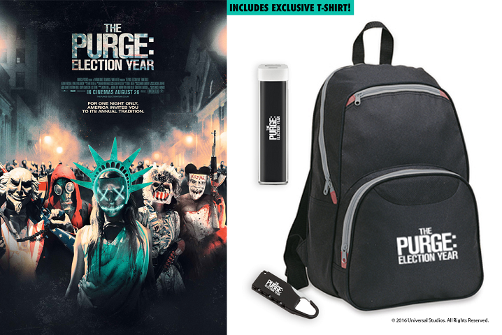The Purge: Election Year sweepstakes