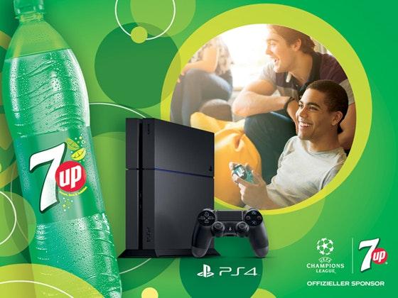 Games-Fun mit 7UP: PS4 gewinnen Gewinnspiel