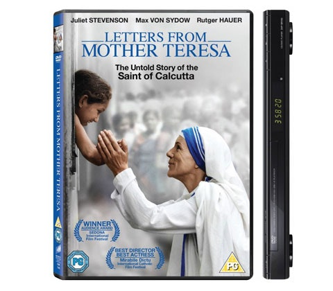 Letters from Mother Teresa sweepstakes