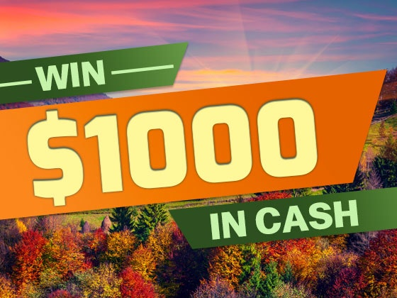 $1000 Cash September sweepstakes