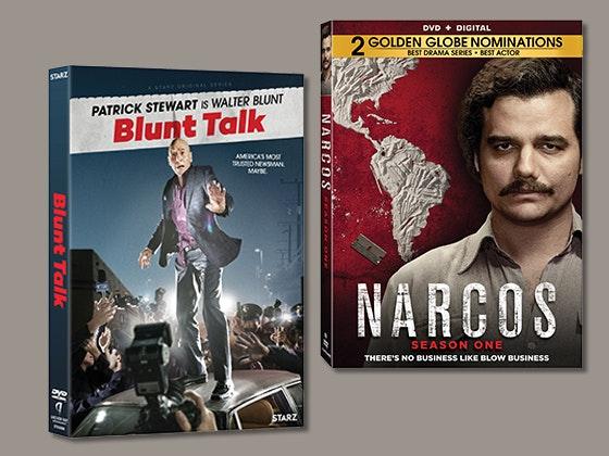 Blunt talk narcos giveaway